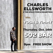 Charles Ellsworth at 502 Bar
